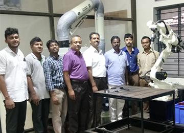 ISRO Scientists visit Caliper & qualify it for Welding to ISRO