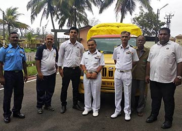 Sahyadrians contribute relief materials for the flood victims of Kodagu and Kerala