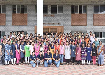 Students of Govt. First Grade College, Punjalkatte visited Sahyadri for Hands-On Training & Industry Visit