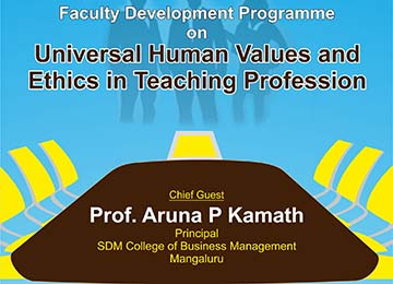 One-Day Faculty Development Programme for UG Faculty