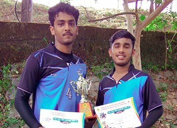 Sahyadrians achieve 1st Place in Throwball Tournament at Dasara Kreedotsava 2018