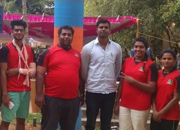 Sahyadrian secures first in Wrestling and second in Judo at the VTU Inter-Collegiate event