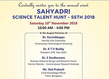 Sahyadri Science Talent Hunt – SSTH 2018