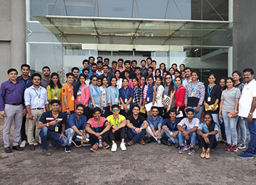 First Year MBAs visit Manipal Technologies, Manipal