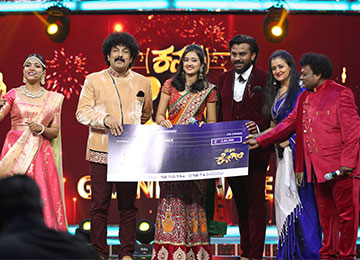 MBA student wins 'First Runner-Up' Title at Kannada Kogile
