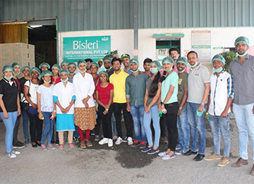 MBAs had been to Bisleri International Pvt. Ltd, Hyderabad as a part of Industry-Academia Interface