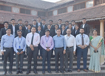 Twenty MBAs get placed at HDFC Bank