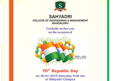 70th Republic Day Celebration in the Campus