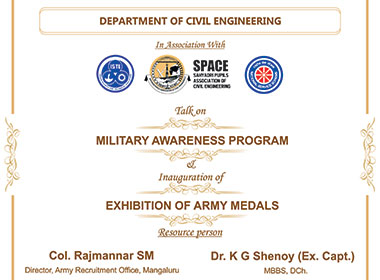 Army Awareness Program and Inaugural function of Exhibition of Army Medals