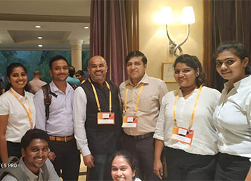 MBAs attend 'Knowledge Factory 2019' at The Taj West End, Bengaluru