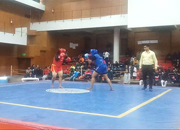 Sahyadrian secures 2nd place in ALL India Inter-University WUSHU competition held at Punjab University, Chandigarh