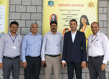 Mr.Vishal Krishna, AVP-Operations, EPS (P) Ltd visits Sahyadri