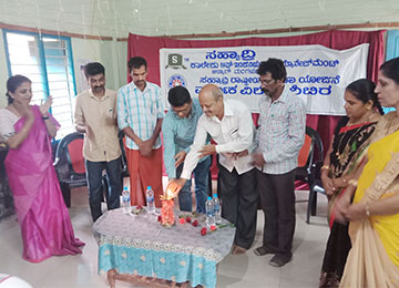 Sahyadri College NSS unit conducts First NSS special camp at Kumpala Government School