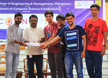 Flagship Event - COGNIT 19 of Dept. of Computer Science & Engineering Concluded