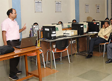 "Dept. of E&C Engineering organized a Half-Day workshop on ""Technical Paper Writing"" for Faculty"