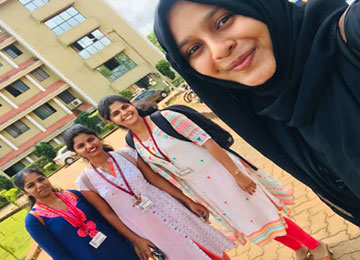 ISE Students win SECOND Place in 'Paper Presentation' at Jnanasangama -2019