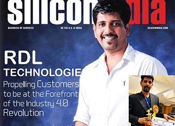 CEO of RDL awarded 'Outstanding Achievement Award for Business Excellence' & also featured on Cover Page of Silicon India