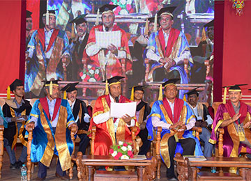 Sahyadri celebrates the Ninth Graduation Day for the engineering students