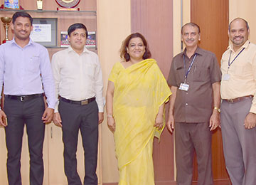 VP-Corporate Relationship, Outlook Group visits Sahyadri