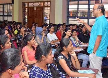 Two-Day PGCET Training, a Community Initiative at Sahyadri