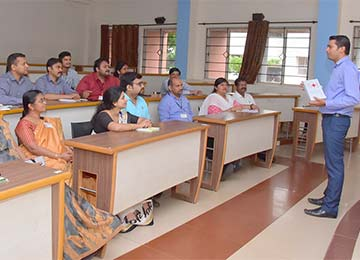 First Aid Demonstration and Health Care awareness session held for the Teaching and Non-teaching staff