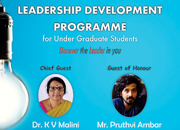 One-Day Leadership Development Programme (LDP) for UG Student Council Members