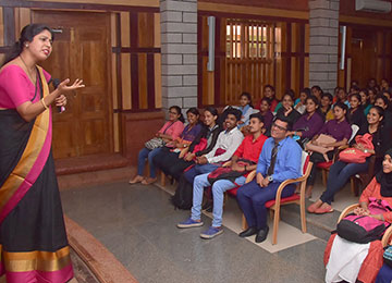 MBA Dept organized a One-Day Leadership Development Programme for UG Student Council Members
