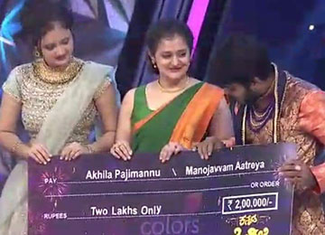MBA student wins 1st Runner-Up in Kannada Kogile Super Season organized by Colors Super Channel