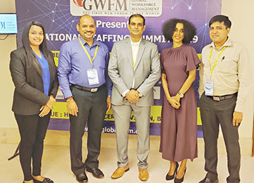 Sahyadri Placement team attended National Staffing Summit- 2019 held at Hotel Chancery Pavilion, Bengaluru