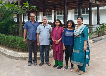 Director of Symbiosis Law School, Pune visits Sahyadri