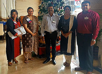 MBA Faculty attend BNI Meet at Hotel Ocean Pearl, Mangaluru