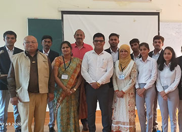 MBA Faculty invited as a Session Chair to evaluate Research Paper Presentation in the International Conference