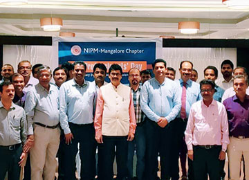 MBA Faculty attend 'HR Professional's Day' programme organized by NIPM, Mangaluru Chapter