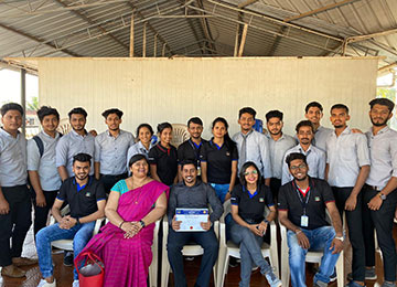 Prelims of Sahyadri Whiz Quiz 2020, the flagship event of MBA Department