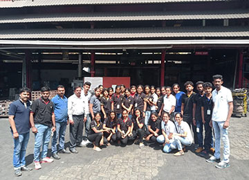 First Year MBAs visit Mysuru for Industrial Tour
