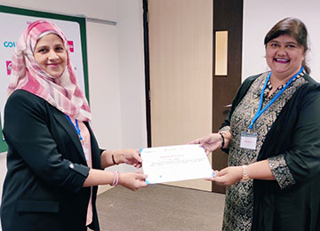 MBA Faculty at MAHE, Dubai Presenting a Research Paper at the International Conference - OCBM 2020