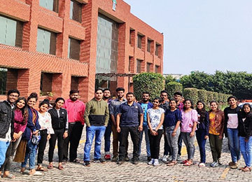MBAs visited FieldKing, Haryana for Industry-Academia Connect