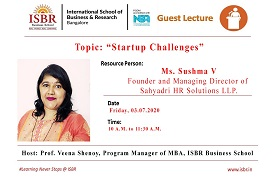 MBA Faculty invited to facilitate a Webinar on