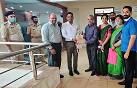 Sahyadri Team met The Police Commissioner of Mangaluru – Mr. N Shashikumar