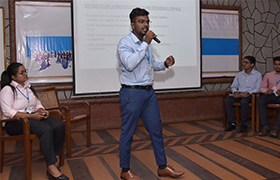 "MBA Dept. organized a ""Presentation & Analysis by Students - Union Budget 2021"""