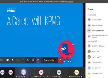KPMG-GDC Conducts Campus Recruitment Drive for MBAs
