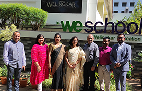 MBA Faculty Members visit Welingkar Education (WE School), Bengaluru