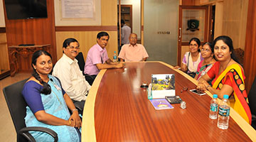 Renowned Academicians visited Sahyadri