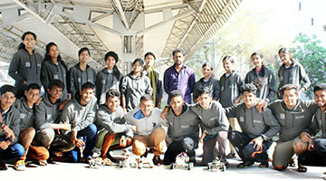 Sahyadrians qualified to top 8 at IIT- Roorkee