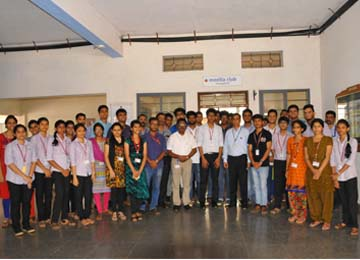Inauguration Ceremony of Mozilla Club organised by ISE Department