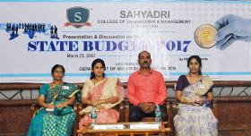 MBAs present the State Budget 2017-18