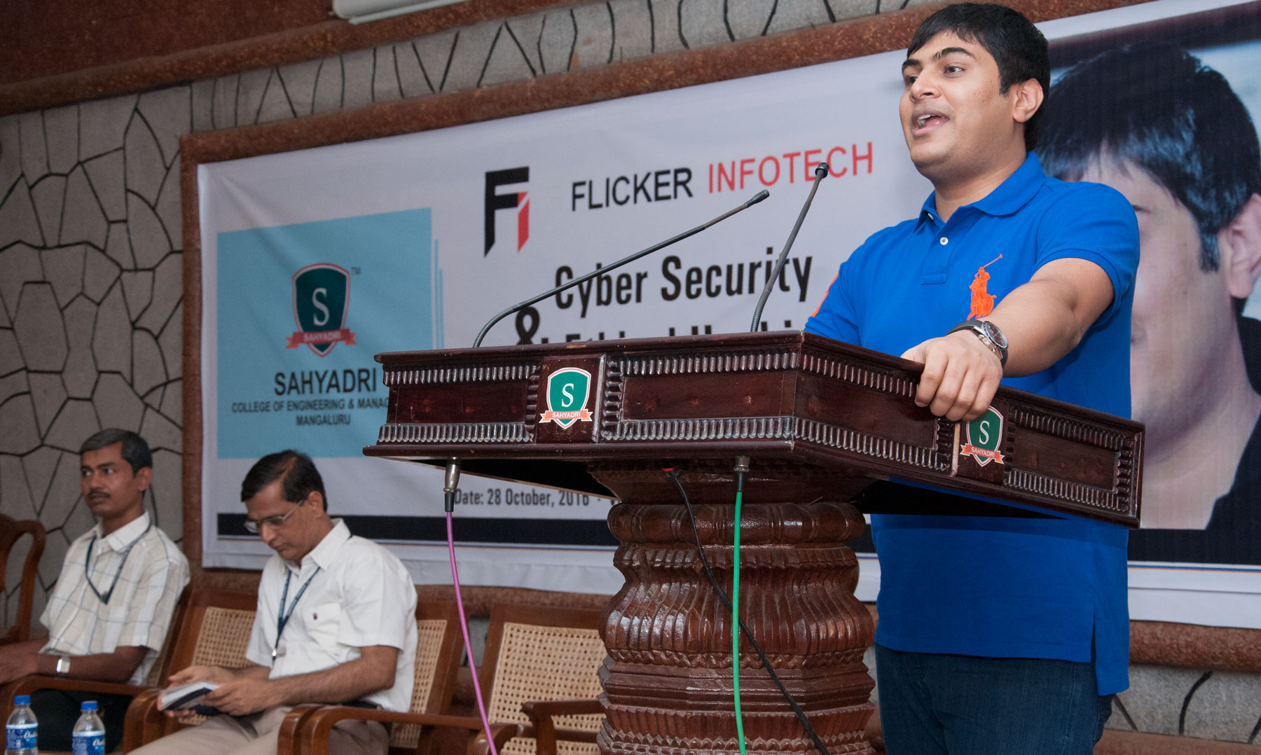 Flicker Infotech organizes a Workshop on Ethical Hacking facilitated by Ankit Fadia
