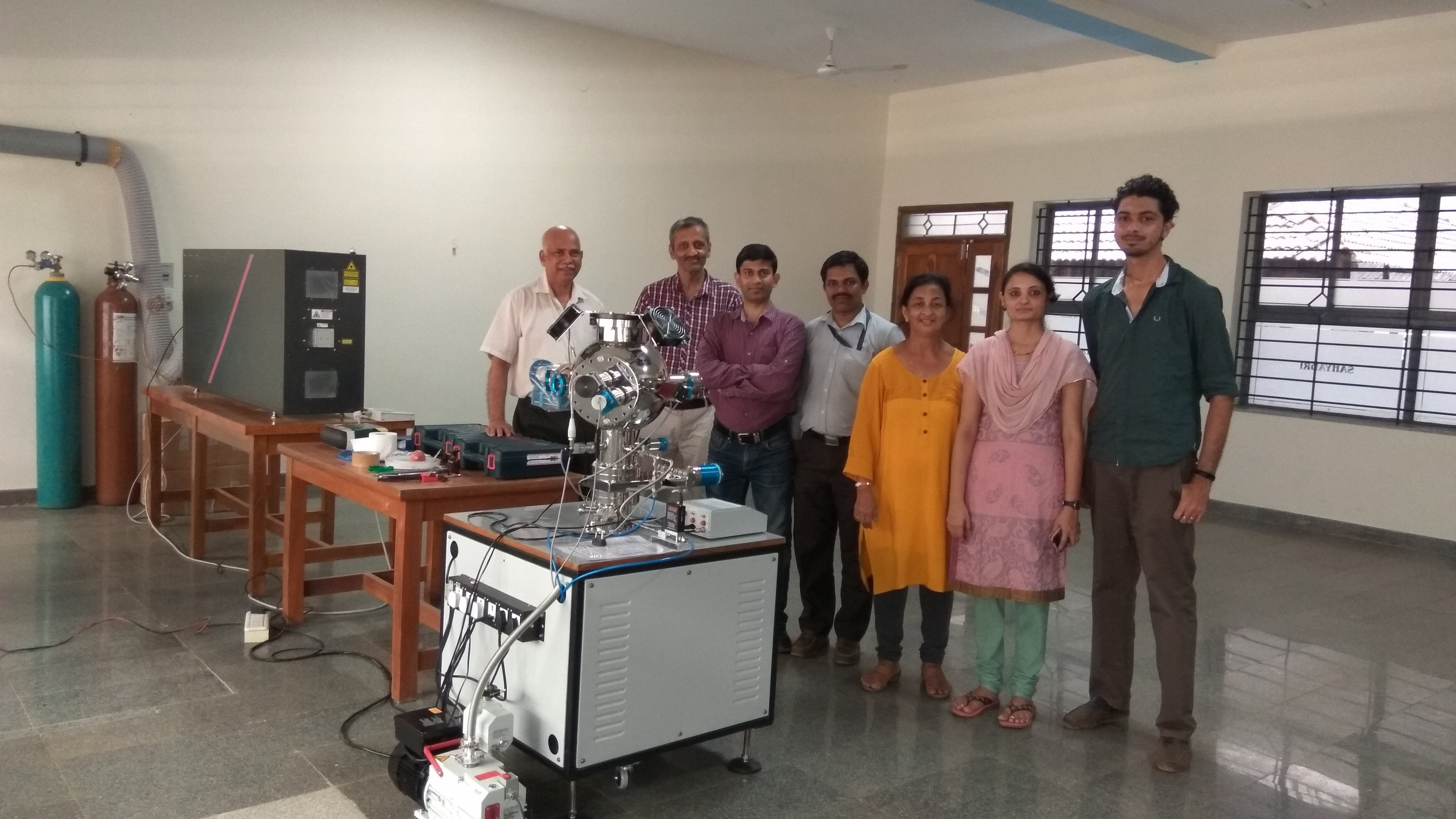 Pulsed Laser Deposition System has been installed