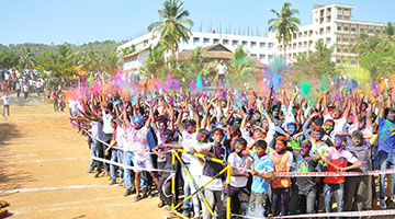 Students Celebrate the Festival of Colours