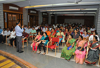 Parents of New Entrants Oriented in the Campus